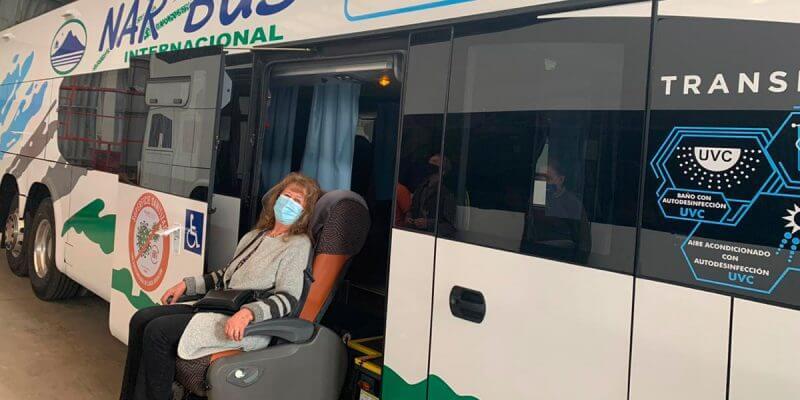 Llegan a Chile Primeros Buses con Tecnología Antimicrobiana